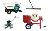 Concrete equipment rentals in Greensburg PA